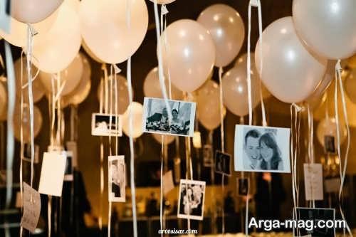 تزیین جشن عقد با بادکنک