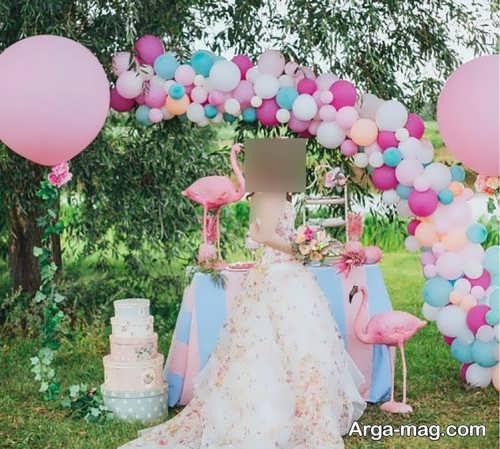 طراحی جشن عروسی با بادکنک