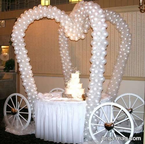 تزیین جشن عروسی زیبا