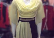 مدل لباس مجلسی یقه شل