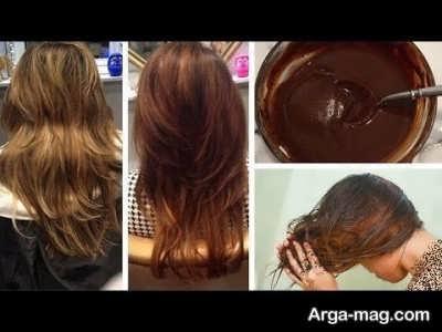 رنگ زدن مو با نسکافه