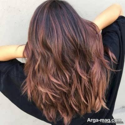 رنگ مو با نسکافه