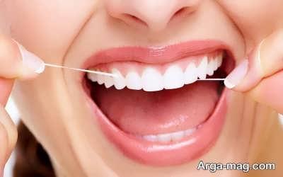 تاثیر استفاده از نخ دندان در رفع جرم دندان