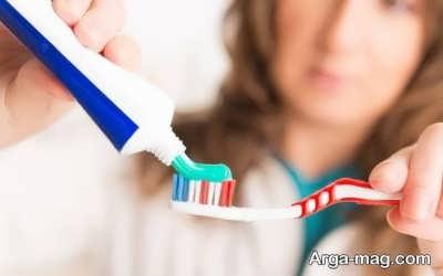 تاثیر خمیر دندان فلوراید به روی دندان ها