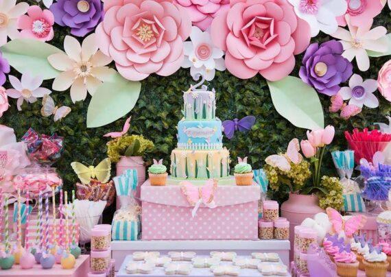 ایده هایی زیبا و بینظیر از تم تولد گل برای تمام سنین