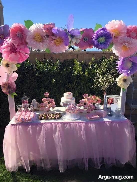 ایده هایی زیبا و جذاب از تم تولد گلها برای تمام سلیقه ها