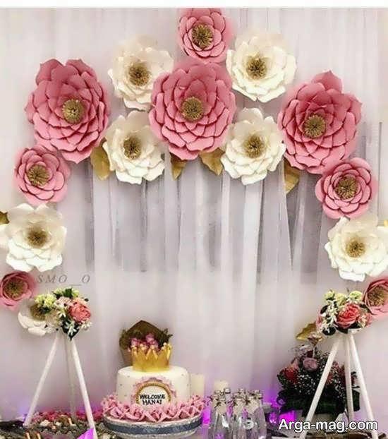 گالری شیکی از طراحی تولد گل