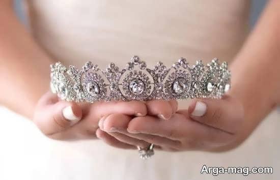 ایده هایی لاکچری و بینظیر از راهنمای انتخاب تاج عروس برای جشن عروسی
