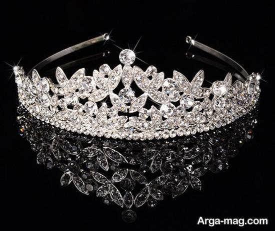 ایده هایی بینظیر و لاکچری از راهنمای انتخاب تاج عروس