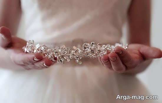 انواع ایده های زیبا و دیدنی راهنمای گزینش تاج عروس
