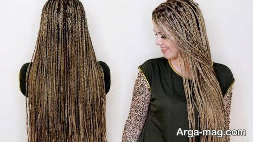 بافت مو خاص زنانه