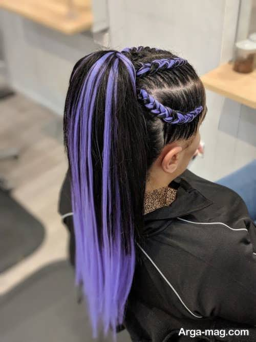 بافت مو با مو اضافه