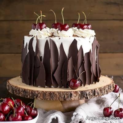 آشنایی با طرز تهیه کیک شکلات گیلاسی