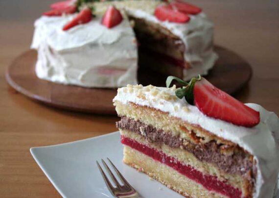 آشنایی با طرز تهیه کیک چند لایه