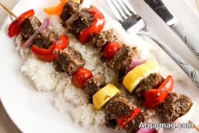 آشنای با طرز تهیه کته کباب