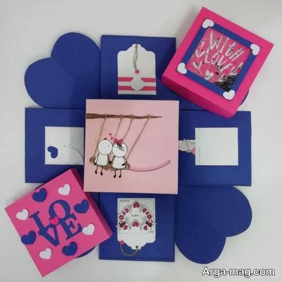 ایده هایی زیبا از جعبه ی سوپرایز و روش درست کردن