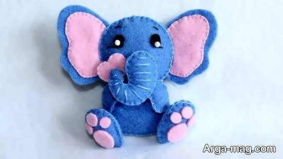 آموزش درست کردن عروسک حیوان زیبای فیل