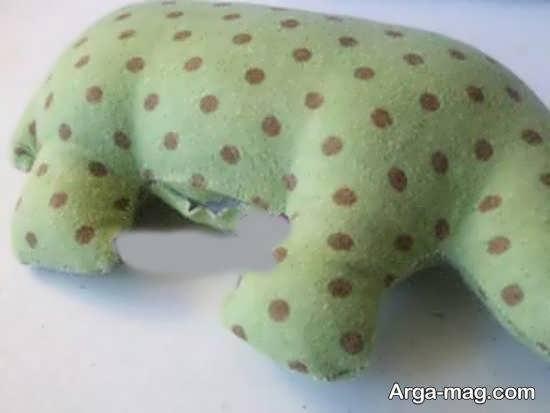 آموزش ساختن عروسک فیل به راحتی