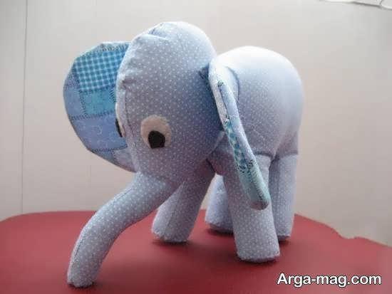 آشنایی با روش های تهیه عروسک فیل