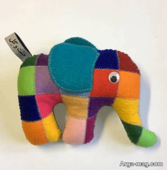 آموزش سه روش آسان ساخت عروسک فیل برای کودکان