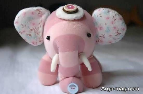 آموزش ساختن عروسک فیل یکی از حیوان های دوست داشتنی