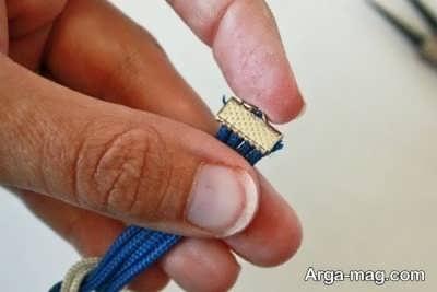 مدل دستبند شیک و دو رنگ