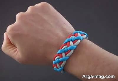 ساخت دستبند با بند کفش