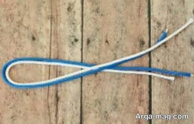 ساختن دستبند با بند کفش