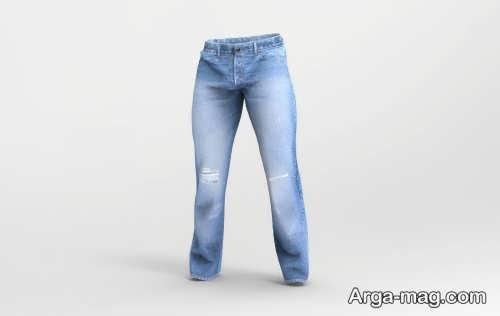 شلوار جین مردانه رنگ روشن