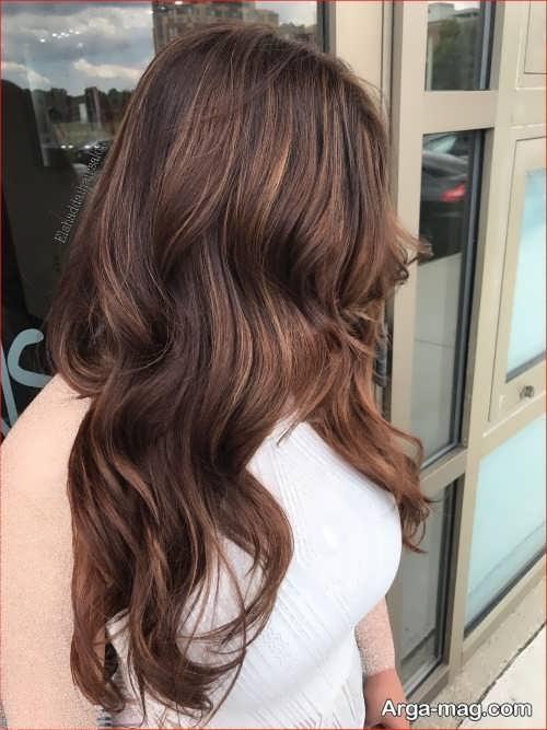 رنگ مو قهوه ای روشن