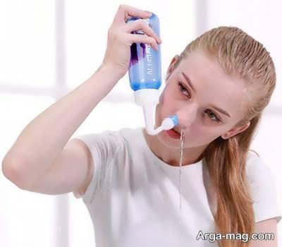روش های شستوشوی بینی