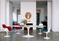 ایده هایی زیبا از میز ناهارخوری بیضی برای سلیقه های مختلف
