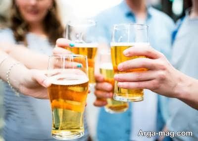 مصرف به اندازه نوشیدنی ماءالشعیر