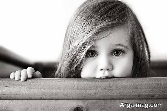 ایده هایی از ژست عکس غمگین دختر بچه بانمک