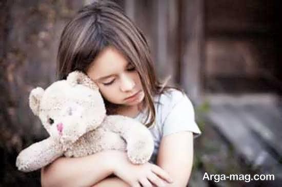 ایده هایی بینظیر از ژست عکس دلتنگی و غم دختر بچه
