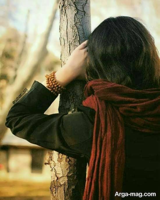 ایده هایی زیبا از ژست تصویر غمگین دخترانه برای عکاسی