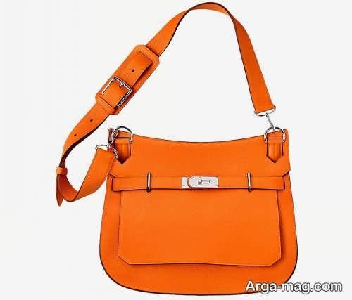 کیف دخترانه نارنجی