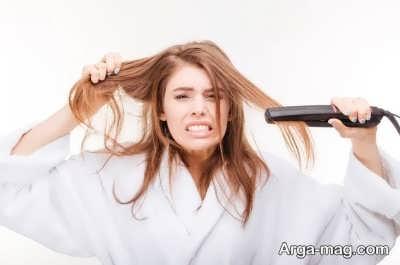 تاثیر وسایل گرمایشی بر بافت مو