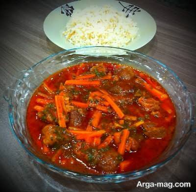 خورش هویج خوشمزه