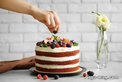متن روی کیک