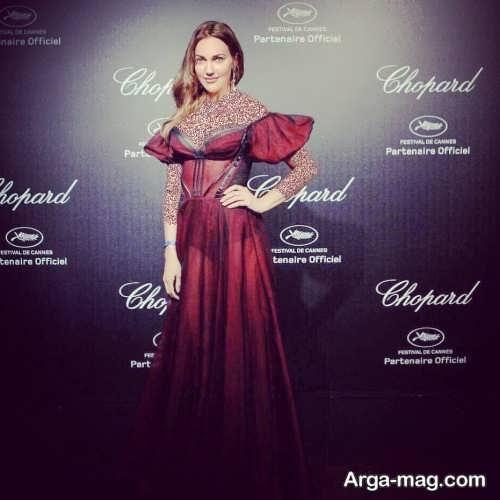 لباس بلند برای بازیگران ترکی