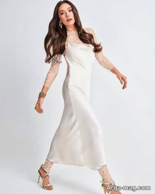 مدل لباس سفید برای بازیگران ترکیه