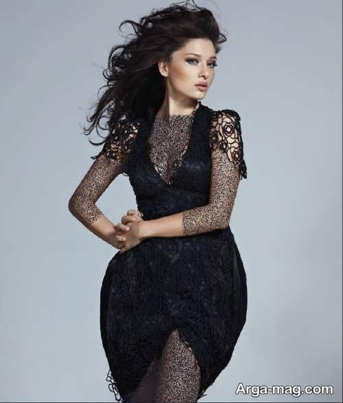 لباس مشکی بازیگران ترکی