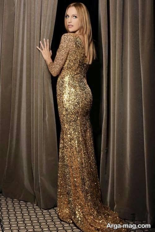 لباس طلایی برای بازیگران ترکی
