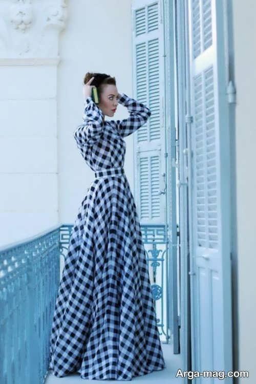 لباس طرح دار برای بازیگران ترکیه ای