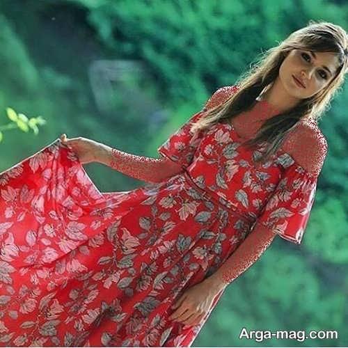 لباس گلدار برای بازیگران ترکی