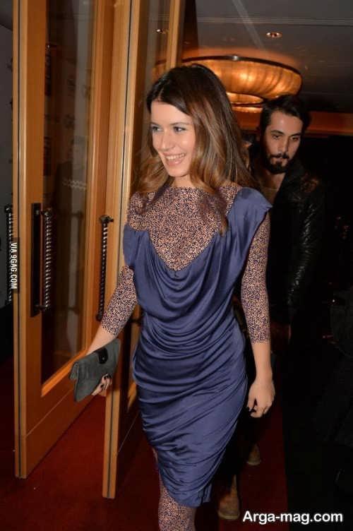 مدل لباس کوتاه بازیگران ترکیه