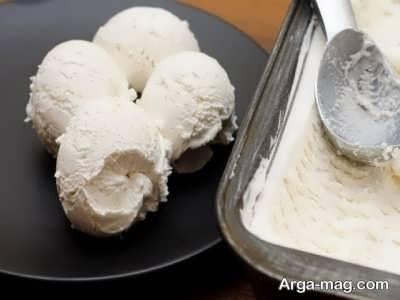 بستنی ترکی وانیلی