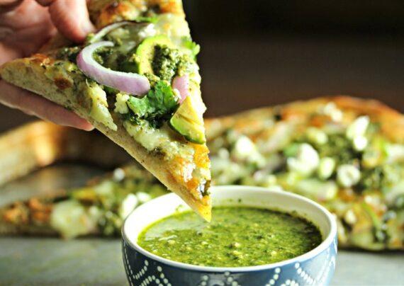 طرز تهیه پیتزا وگان