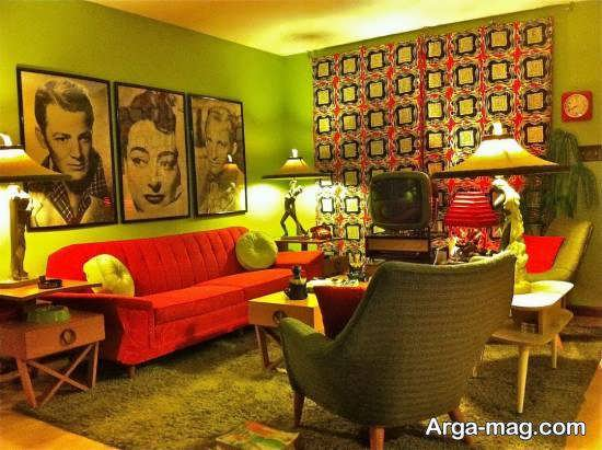 نمونه هایی زیبا از سبک طراحی منزل وینتیج با استفاده از رنگ های روشن